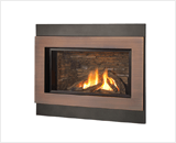 H4 Series shown with Logs, Outer Square Surround and Copper Inner Bezel