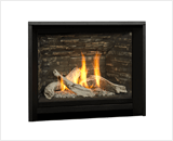 H5 Series shown with Driftwood and 1 Inch Fixed Framing Kit in Black