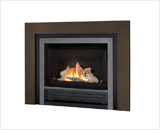 Horizon Series shown with Driftwood, Clearview Front, Clearview Fret and Bronze Square Trim