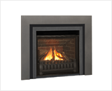 Horizon Series shown with Logs, Clearview Front, Clearview Fret and Vintage Iron Square Trim