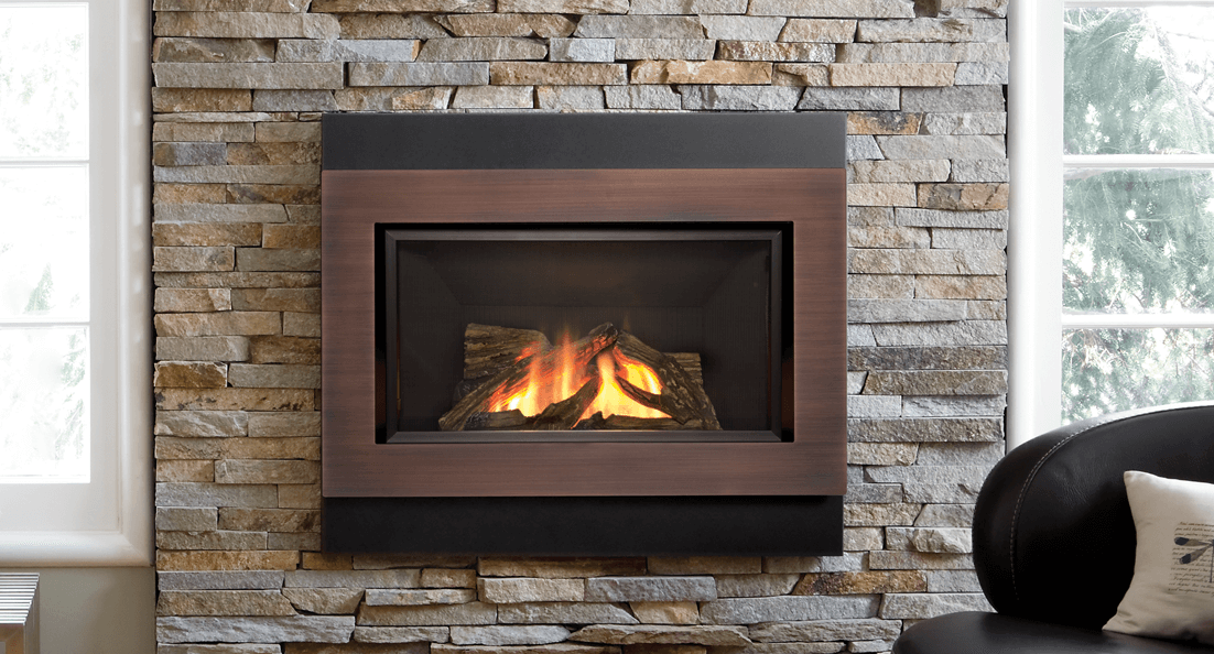 H4 Gas Fireplace