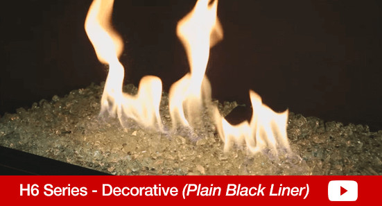 H6 Decorative Plain Black