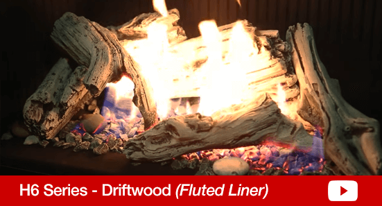 H6 Driftwood Fluted