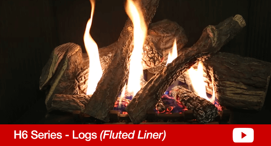H6 Logs Fluted