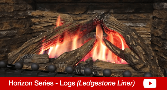 Horizon Logs Ledgestone