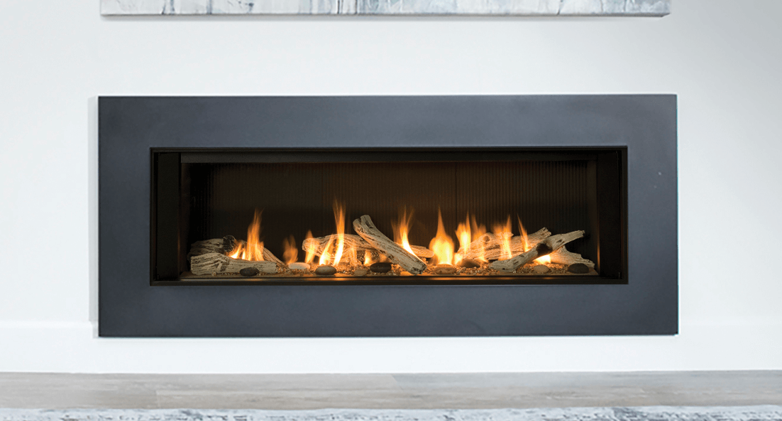 L2 Linear Gas Fireplace