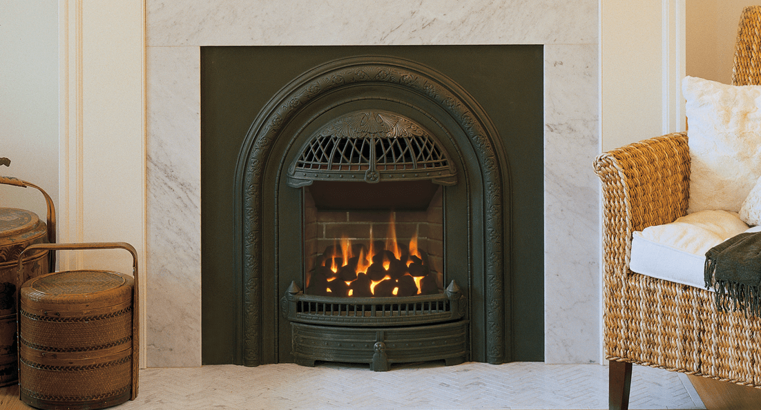Portrait Gas Fireplace